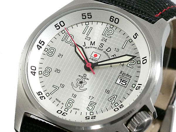 【最大36倍】(〜12/21 1:59)【今月特価】【ポイント10倍】(〜1/8) ケンテックス KENTEX 海上自衛隊モデル 腕時計 S455M-03 メンズ