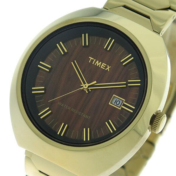 【FCバルセロナシーズン開幕キャンペーン 全ショップポイント3倍×ポイントアップ】 タイメックス TIMEX リミテッドエディション Limited Edition クオーツ 腕時計 T2N881 ウッド/ゴールド ユニセックス