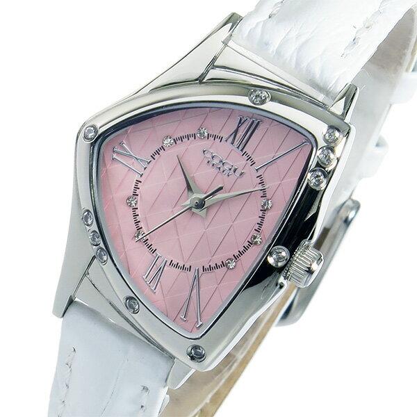 【期間限定】【ポイント2倍】(〜6/24) コグ COGU クオーツ 腕時計 BS02T-WPK ピンク レディース