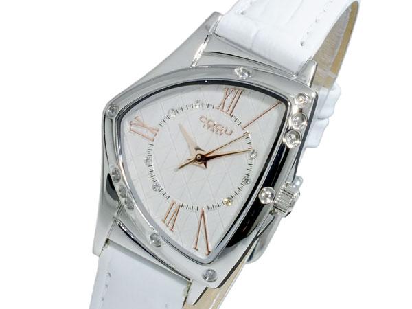 【期間限定】【ポイント2倍】(〜6/24) コグ COGU クオーツ 腕時計 BS02T-WHR レディース