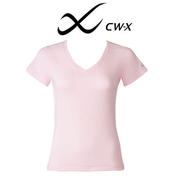 ワコール CW-X スポーツアウター トップ Tシャツ 半袖 ライトメッシュ レディース DLY544【wcl-cwx-w】【n】【n10】【p】【】
