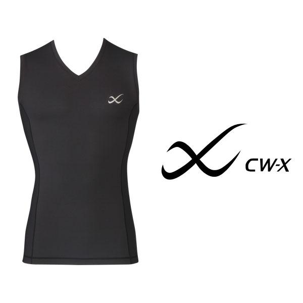 ワコール CW-X セカンドボディ Vネック ノースリーブ メッシュタイプ メンズ CHO340【wcl-cwx-mt】【n】【n10】【p】【】