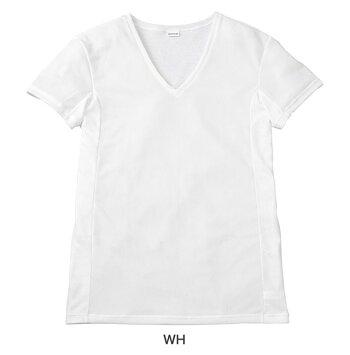 【メンズ】[ワコール]BROSV首半袖シャツGL5701【インナー・肌着】【ブロス】【wcl-brl】【n】【p】【】