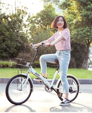 折りたたみ自転車自転車バイクbike20インチ軽量6段変速ギアシティサイクル送料無料安心保証1年メンズレディース子供通勤通学