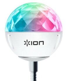 【公式 / 送料無料】ION Audio Party Ball USB LEDライト ミラーボール 音声で光が変化