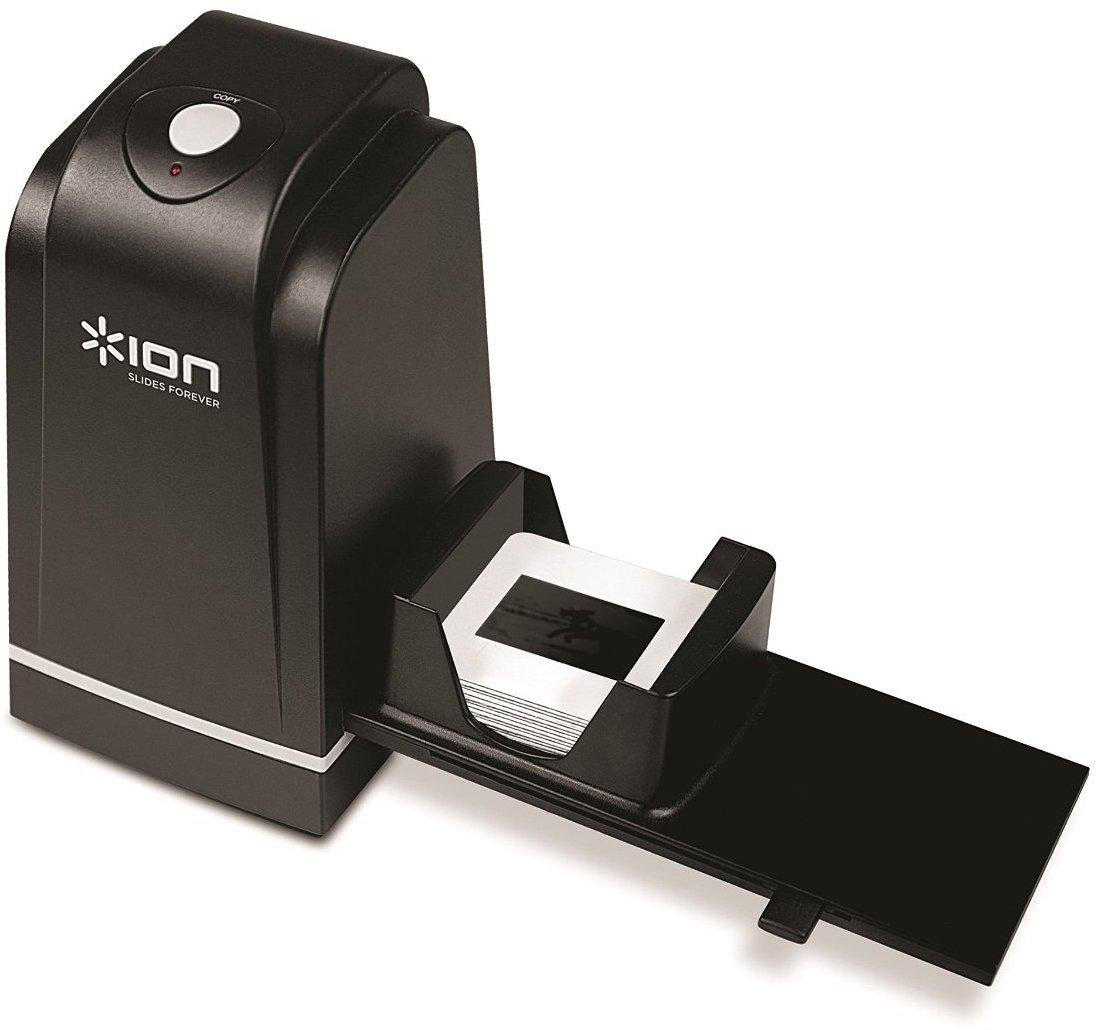 【公式 / 送料無料】ION Audio スライド・フィルムスキャナー USB接続 ネガ・ポジ対応 Slides Forever