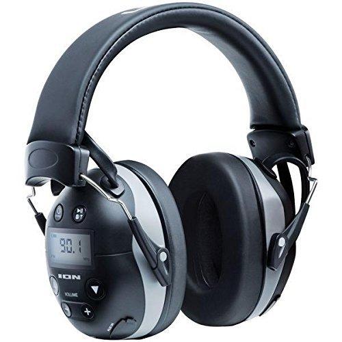 【公式 / 送料無料】ION Audio Bluetooth 対応 防音 ヘッドフォン 遮断値27db ノイズ軽減 電話 応対 AM/FMラジオ搭載 Tough Sounds II