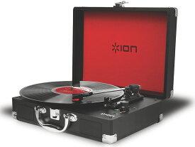 【公式 / 送料無料】ION Audio レコードプレーヤー スーツケース型 バッテリー内蔵 USB 端子 Vinyl Motion