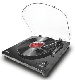 【公式 / 送料無料】ION Audio レコードプレーヤー Bluetooth送信 USB 端子 Air LP ブラック