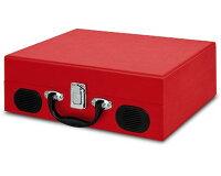 【公式/送料無料】IONAudioスピーカー内蔵スーツケース型レコードプレーヤーVinylTransportブルー