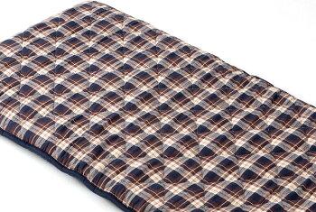 ごろ寝マット先染めチェックコンパクトキルティング仕様ふんわり中綿入り優しい風合い持ち運び簡単どこでも広げられる休憩やお昼寝に使える快適な寝心地中綿の片寄りを防ぐネイビーレッド70cm×130cm[新商品]