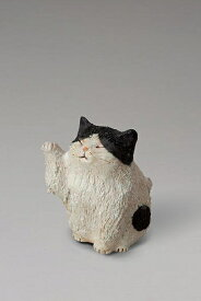 まねき猫 伝統的な味わいのある信楽焼き 置物 小物 和テイスト 陶器 日本製 信楽焼 縁起物 焼き物 和風 しがらき ネコ ねこ 一人暮らし 新生活
