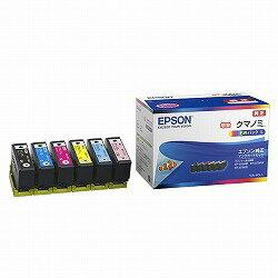 【送料無料】 EPSON セイコーエプソン 純正 カラリオプリンター用 インクカートリッジ/クマノミ(増量6色パック) KUI-6CL-L