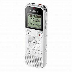 ステレオICレコーダー 4GB ホワイト ソニー ICD-PX470F/W