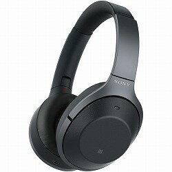 ワイヤレスノイズキャンセリングステレオヘッドセット ブラック (ヘッドバンドスタイル) ソニー WH-1000XM2/B