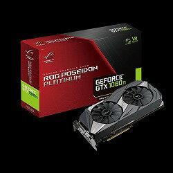 【ASUS Aura Sync対応】ROG POSEIDON シリーズNvidia GeForce GTX 1080 TI搭載ビデオカード ROG-POSEIDON-GTX1080TI-P11G-GAMING ASUS TeK ROG-POSEIDON-GTX1080TI-P11GG