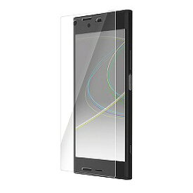 Xperia XZ1/液晶フィルム/衝撃吸収/防指紋/光沢 エレコム PM-XZ1FLFPG