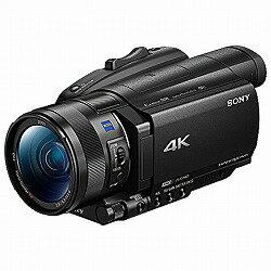 デジタル4Kビデオカメラレコーダー Handycam AX700 ソニー FDR-AX700