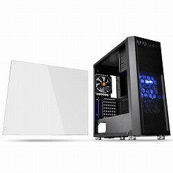 Thermaltake ミドルタワー型PCケース Versa H26 Black /w casefan アスク CA-1J5-00M1WN-01