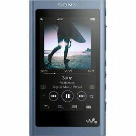 ウォークマン Aシリーズ 16GB ムーンリットブルー(ヘッドホン付属なし) ソニー NW-A55/L