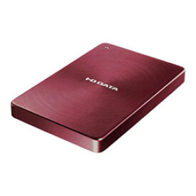 【送料無料】アイ・オー・データ機器 アイオーデータ IODATA HDPX-UTA1.0R USB 3.0 / 2.0 ポータブルハードディスク アルミボディ HDD 1TB レッド