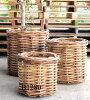 ラタン鉢カバーB1252観葉植物モダンナチュラルインテリアグリーンおしゃれ人気引越し祝い開店祝い新築祝い結婚祝いお祝い観葉植物通販
