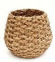 ラタン(籐)鉢カバーΦ39×h35 inΦ28cm 8号鉢まで対応 B8210観葉植物 モダン ナチュラル インテリアグリーン   お…