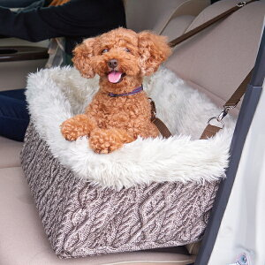 ブースターボックス XL ニット [ドライブ ボックス シート 車 ペット 犬 いぬ イヌ 飛び出し防止 安全]