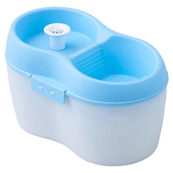 【感謝祭ポイントUP!!】ペット給水器 PetH2O 2L 本体 [ペット 犬 猫 自動 給水器 循環式]