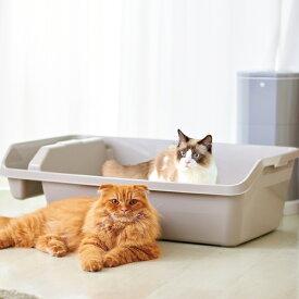 【新品未使用アウトレットセール!!】HY REX ハイレックス ※少しキズ等あり※ [大型猫 大きい ネコ トイレ 多頭 ビッグ 大容量 オープン]