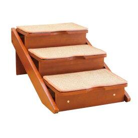 【新品未使用アウトレットセール!!】外箱つぶれ(中身は未使用) 木製2wayステップ 3段タイプ