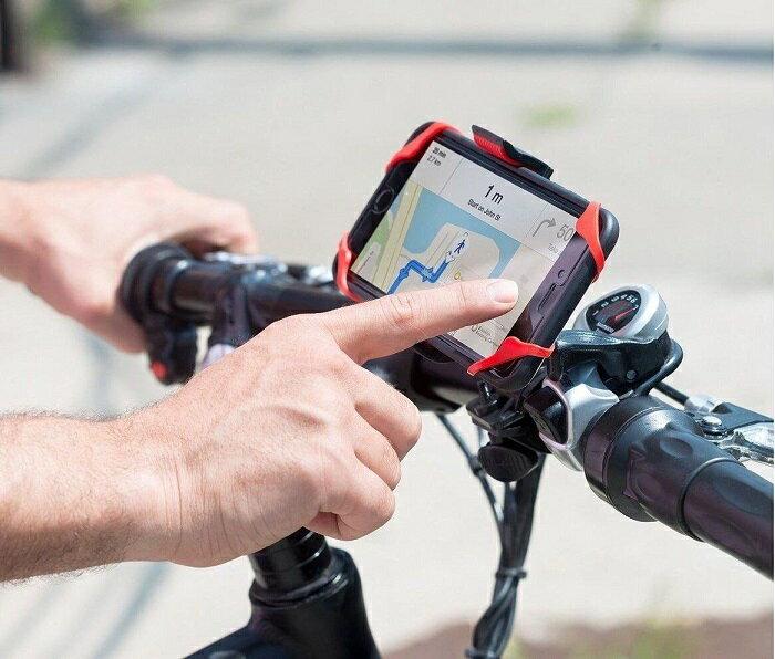 【送料無料】ipow 自転車 スマートフォンホルダー 360度回転 自転車 スマホ ホルダー バイク 脱落防止 スマホスタンド 自転車 iPhone8 iPhone 7Plus Galaxy S8 車載ホルダー ロードバイク クロスバイク 折りたたみバイク 携帯ホルダー 固定