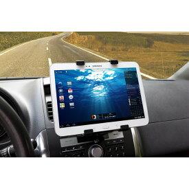 【簡単装着】【送料無料】ipow CDスロット取付型 iPad タブレット 車載ホルダー 車載スタンド タブレットスタンド iPad 車載ホルダー ZenPad Microsoft Surface iPad air Nexus iPad mini など 7〜11インチのタブレット対応可 ギフト