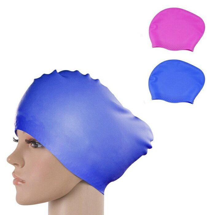 【2枚組】【送料無料】ipow 2つ入り 水泳帽 ロングヘアーにも対応 シリコーン スイミングキャップ 水泳帽 長い髪守り シリコンスイムキャップ 水泳 シリコンキャップ レディース メンズ