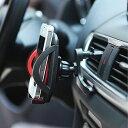 【ウイング付き】【送料無料】ipow 車載ホルダー iPhone エアコン吹き出し口 360度回転可能 スマホホルダー スマホス…