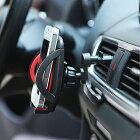 【ウイング付き】【送料無料】ipow 車載ホルダー iPhone エアコン吹き出し口 360度回転可能 スマホホルダー スマホスタンド 車 Xperia XZ3 Premium iPhone 8 iPhone 11 Pro iPhone XS スマホ車載ホルダー スマートフォン