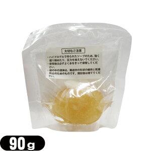 【ゼリー石けん】banabeo(バナベオ) ゴールデンハイドロゲルリッチソープ(Golden hydrogel rich soap) 90g - 金を贅沢に使用し、美容液を濃縮して固めたプルプル触感の新感覚石鹸。