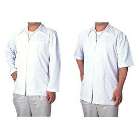 DC白衣 長袖3L(ST-218D) 素材は通気性が良く伸縮性のあるニットで作られておりますのでactiveな動きにも対応致します。