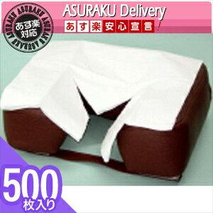 【あす楽対応商品】【清潔な肌触りで耐水性紙】フェイスペーパーY字カット 500枚入り(SB-216A)【HLS_DU】