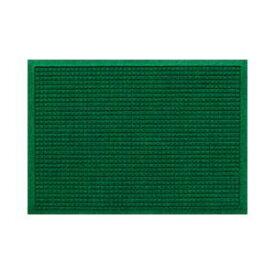 クリーンテックス・ジャパン 玄関マット ウォーターホースT W88×D62 グリーン 1枚 【業務用】 送料込!