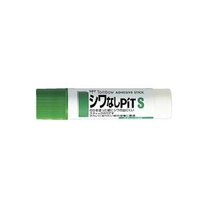 (まとめ)トンボ鉛筆 スティックのりしわなしピット PT-TAS 20本【×2セット】 送料込!