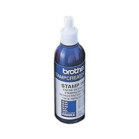 (まとめ) ブラザー BROTHER スタンプ用補充インク 青 20cc PRINKE 1本 【×5セット】 送料込!