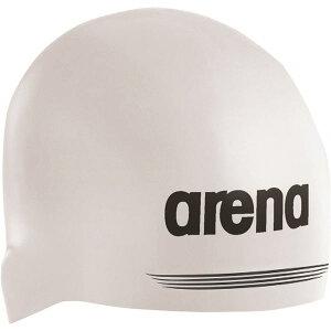 デサント ARENA(アリーナ) シリコンキャップ AQUAFORCE 3D SHIELD ARN7400 ホワイト L(54-59)サイズ