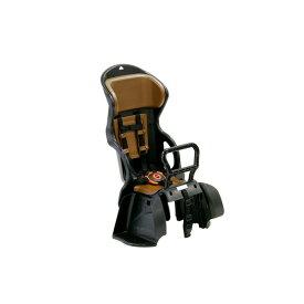 ヘッドレスト付き後ろ用子供乗せ(自転車用チャイルドシート) 【OGK】RBC-015DX ブラック(黒)/ブラウン【代引不可】 送料込!