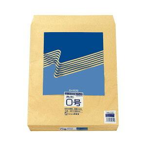 (まとめ) ピース R40再生紙クラフト封筒 角0 85g/m2 712 1パック(100枚) 【×3セット】 送料込!