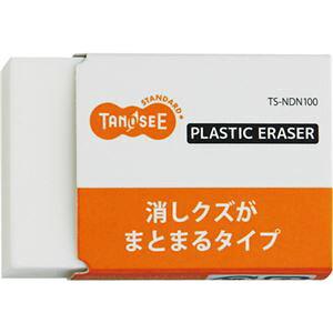 (まとめ) TANOSEE 消しゴム(まとまるタイプ) 中 1個 【×80セット】 送料込!