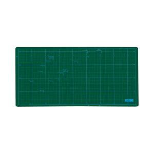 (まとめ) TANOSEE カッターマット A4ワイド 225×450mm 1枚 【×5セット】 送料込!