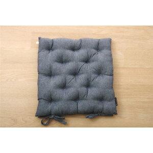 クッション シート 椅子用 綿100% 無地 シンプル ネイビー 約40×40cm 2枚組 送料込!
