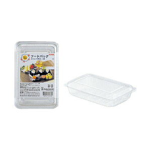 (まとめ)サンナップ フードパック お弁当平型M 10組(×50セット) 送料込!