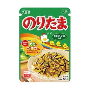 (まとめ)丸美屋 のりたま 大袋 58g 1袋【×50セット】 送料無料!